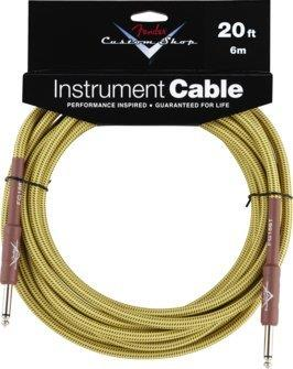 Fender Custom Shop 20' Tweed Jack - Jack Instrument Cable