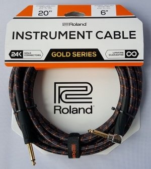 Roland 20ft / 6m Instrument Cable