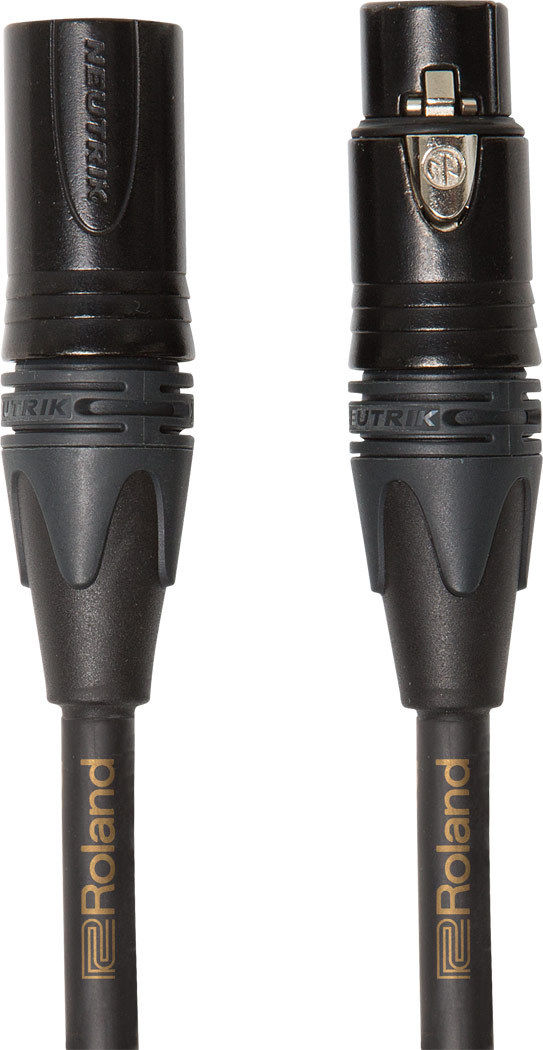 Roland RMC-G25 Gold Series 15 ft./4.5 m XLR Microphone Cable Neutrik Connectors