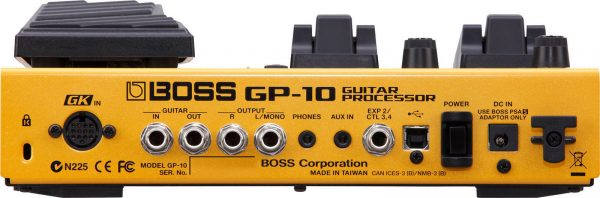 Boss GP-10GK Guitar Multi Processor Including GK Pickup and 3m Cable