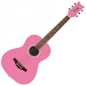 Daisy Rock 'Debutante Junior Miss Acoustic' Guitar - Bubble Gum Pink
