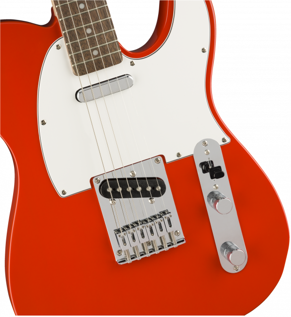 Squier Affinity Series Telecaster Electric Guitar - Race Red