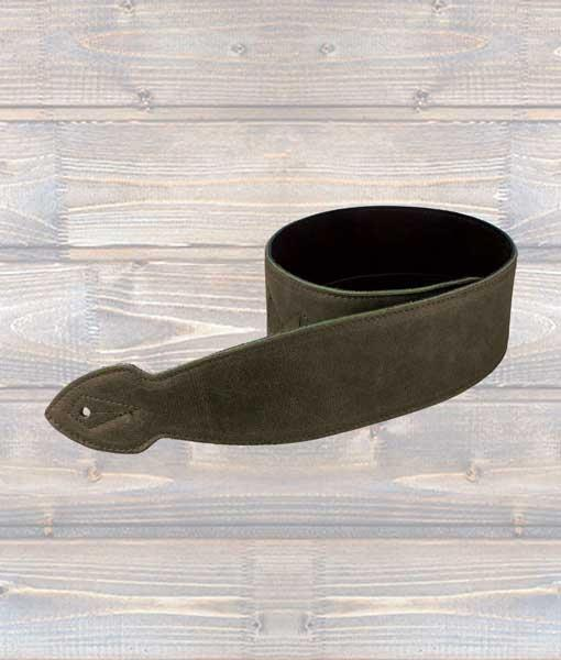"""Leathergraft 2.5"""" Softy Leather Guitar Strap - Brown"""
