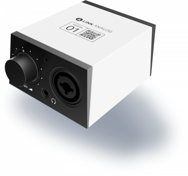 Band Lab Link Analog Audio Interface For PC, Mac, Ios & Android