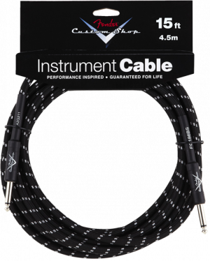 Fender Custom Shop 15' Jack - Jack Instrument Cable - Black