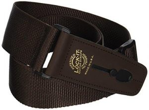 Lock It 2 Inch Brown Poly Strap with Black Locking Ends