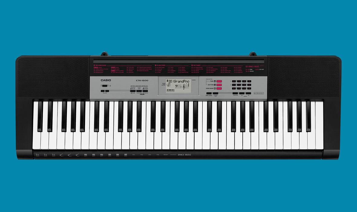 casio 61 note portable full size keyboard ctk 1500k5 ees music. Black Bedroom Furniture Sets. Home Design Ideas
