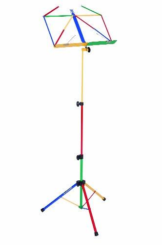 Kinsman Deluxe Folding Music Stand with Bag - Multicoloured