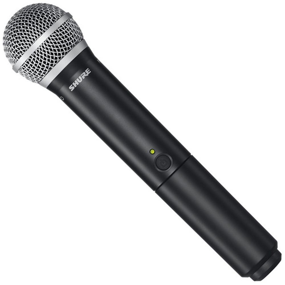 shure blx24 vocal wireless system with sm58 microphone ees music. Black Bedroom Furniture Sets. Home Design Ideas