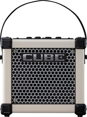 Roland Micro Cube GX Guitar Amplifier White