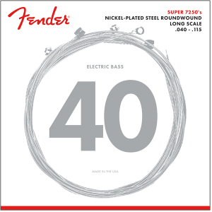 Fender 7250-5L 5-String Bass Strings 40-115