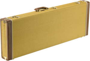Fender Classic Series Strat/Tele Wood Guitar Case - Gold Tweed