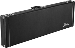 Fender Classic Series Precision/Jazz Bass Wood Guitar Case - Black