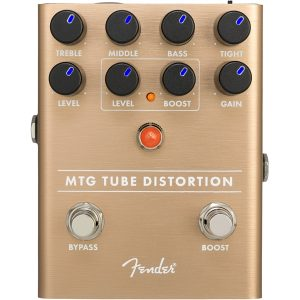 Fender MTG Tube Distortion Valve Guitar Pedal