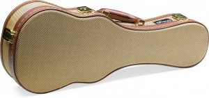 "Stagg 21"" Gold Tweed Case For Soprano Ukulele GCX-UKS GD"