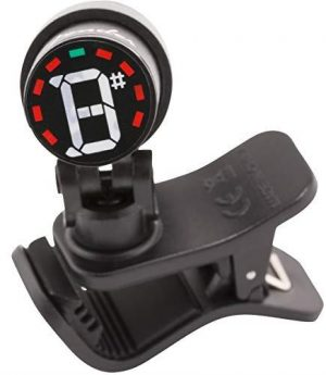 "Fender""Bullet"" Clip-On Chromatic Tuner - Black"