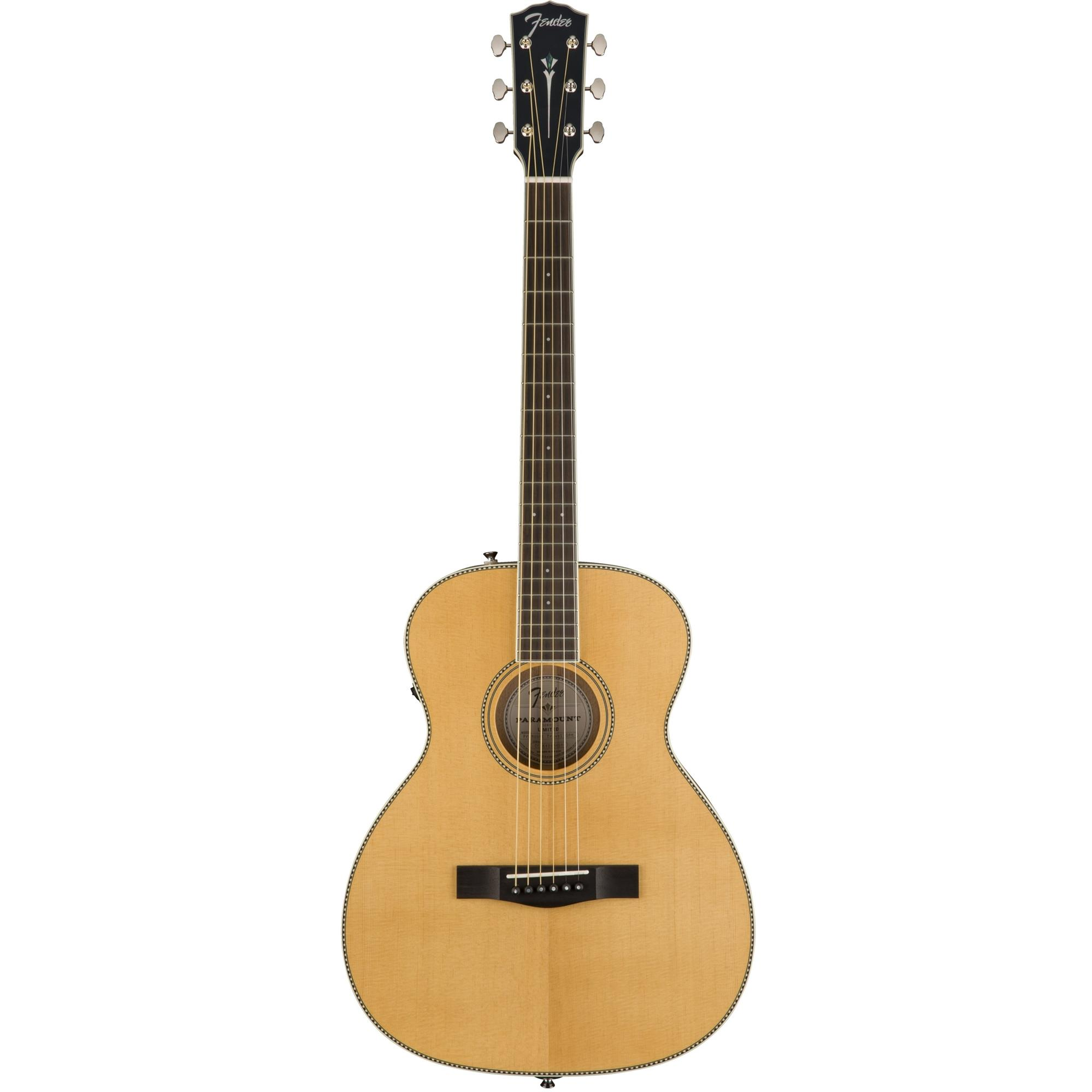 821626f60a8 Fender Paramount Travel Acoustic Guitar PM-TE - Natural w/Hard Case ...