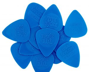 Ernie Ball Nylon Picks Thin Blue EB9135