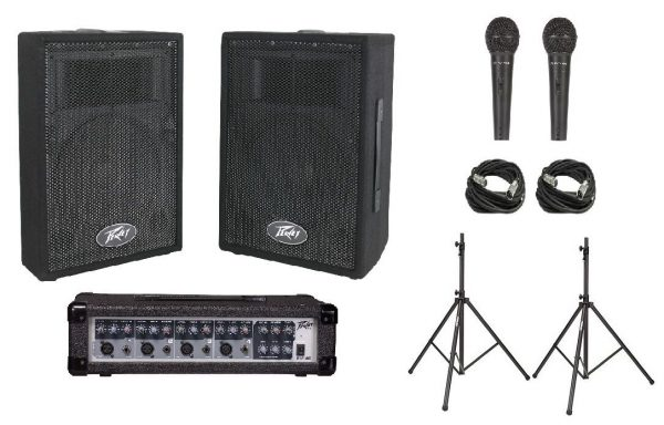 Peavey PVI Audio Performer Speaker Pack