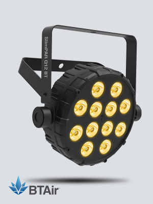 Chauvet SlimPAR Q12 BT Compact Wash Light