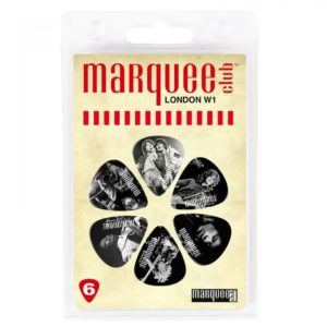 Marquee Club Icons Guitar Picks - 6 Pack Stones, Page, Hendrix