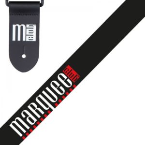 Marquee Club Guitar Strap - Classic Black