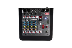 Allen & Heath ZED-6FX Compact 6 Input Analog Mixer with FX