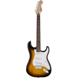 Squier Bullet Stratocaster HT Laurel Fingerboard Guitar - Brown Sunburst