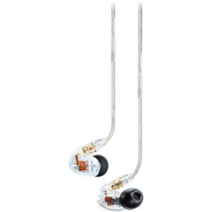 Shure SE425 Professional Sound Isolating Earphones - Clear