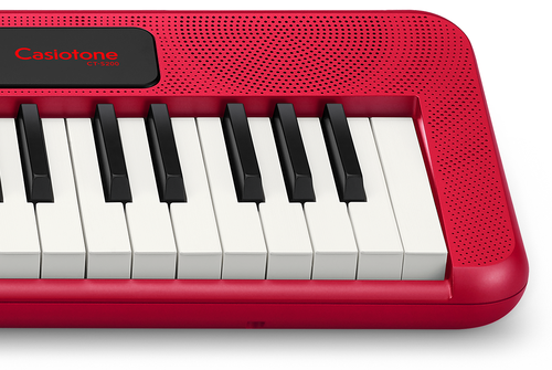 Casio CT-S200 Casiotone 61 Note Portable Keyboard - Red