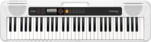Casio CT-S200 Casiotone 61 Note Portable Keyboard - White