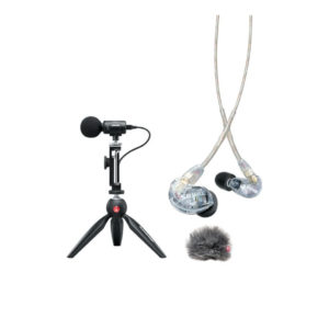 Shure Portable Videography Kit - MV88+SE215