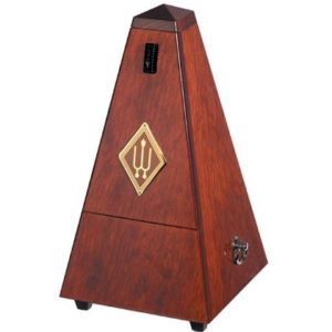 Wittner Pyramid Metronome Wooden Mahogany Colour