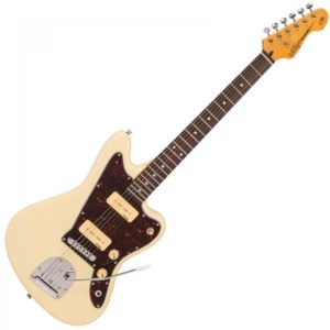 Vintage V65 Reissued Vibrato Electric Guitar - Vintage White