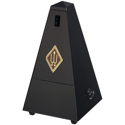 Wittner Pyramid Metronome Wooden Black Matt Silk