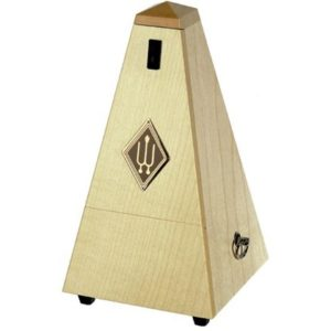 Wittner Pyramid Metronome Wooden Natural Maple Matt Silk