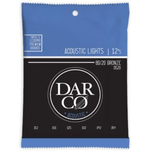 Darco by Martin 80/20 Bronze Acoustic Guitar Strings - Light 12-54