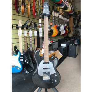 Ex Display Shergold Masquerader SM03 Ltd Edition Black Sparkle Single Coil Electric Guitar