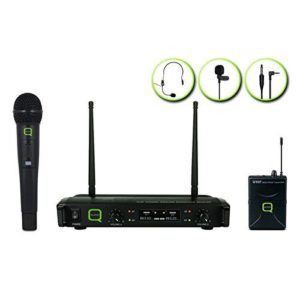 QWM 1932 HH + BP UHF wireless microphone system