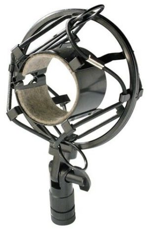 Stagg Studio Mic Shock Mount - Elastic Suspension For Studio Condenser Microphones