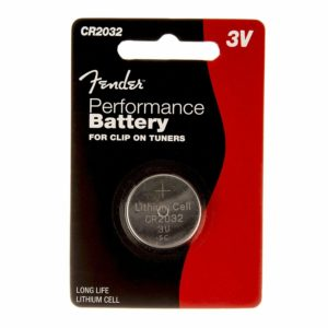 Fender 3v CR2032 Battery x 5