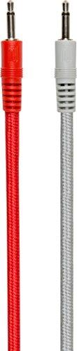 Roland Modular Red And Grey Patch Cables - 4 Pack