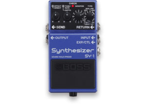 Boss SY-1 Guitar Synthesizer Effects Pedal