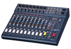 Studiomaster Club XS 12 Mixer with FX - USB/SD Card Record/Playback + Bluetooth - Display Model