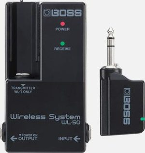 Boss WL-50 Guitar Wireless Pedalboard System with Power Supply - B-Stock