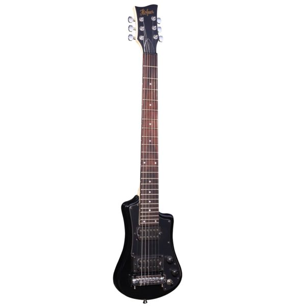 Hofner HCT Shorty Electric Guitar Deluxe - Black