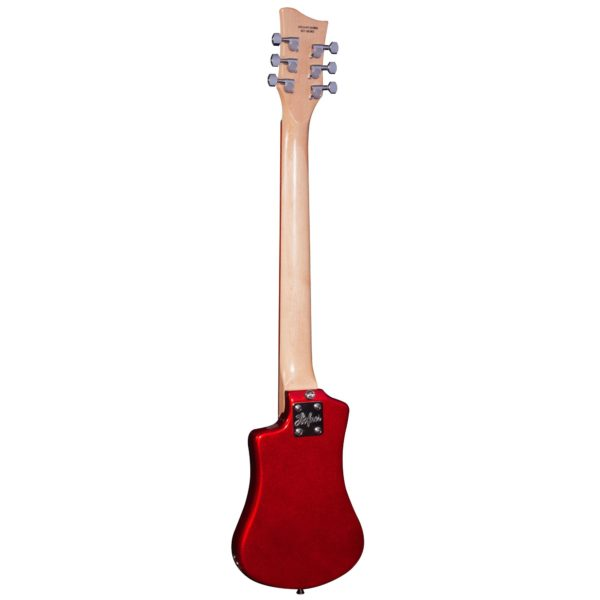 Hofner HCT Shorty Electric Guitar Deluxe - Red