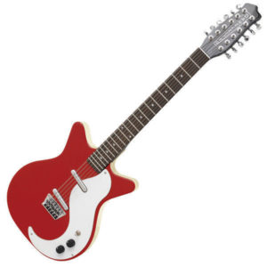 Danelectro DC59 RD Electric 12 String Guitar - Red - New Boxed