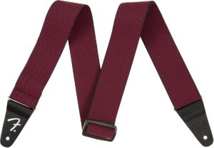 Fender Weighless Red Tweed Stretch Guitar Strap - B-Stock
