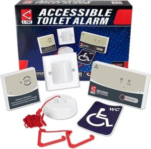 C-Tec Accessible Disabled Persons Toilet Alarm Kit - NC951